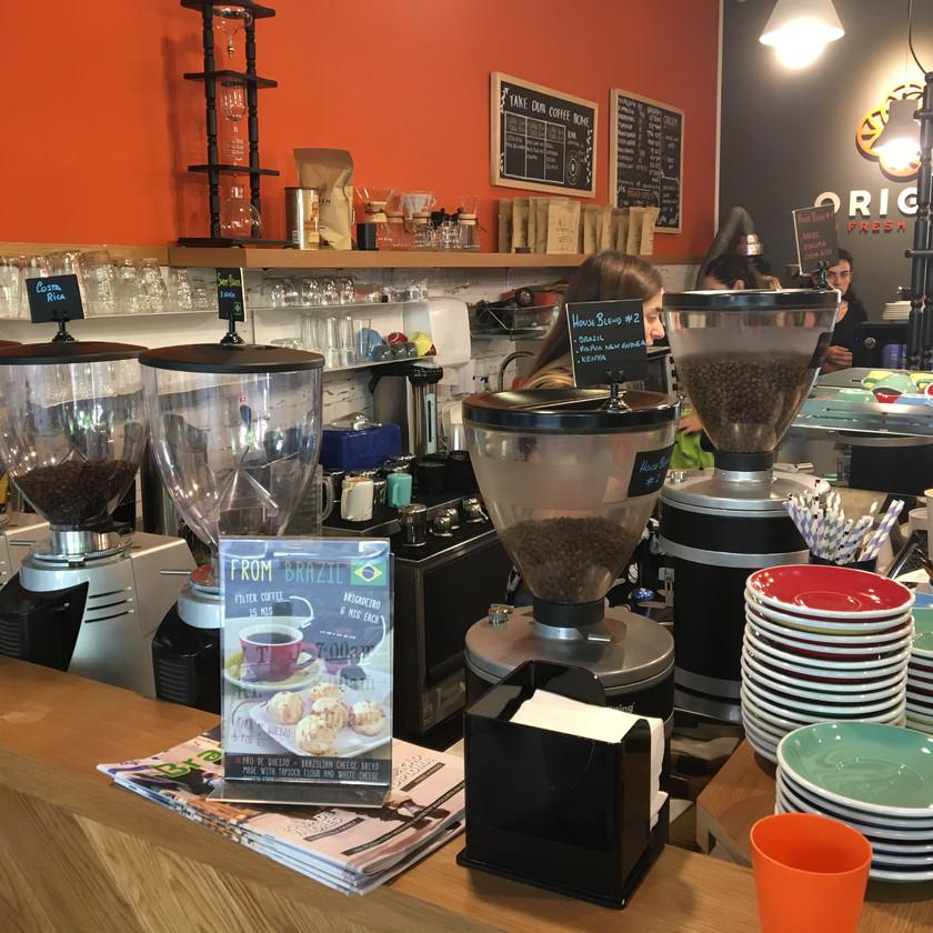 Specialty coffee TLV Origem Coffee