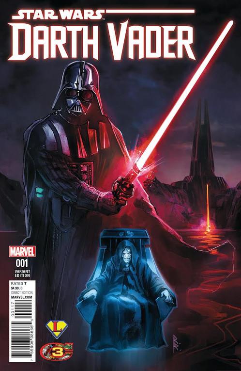 Star Wars Darth Vader 1 Exclusive Legends Modestos Classic Comic Con Variant