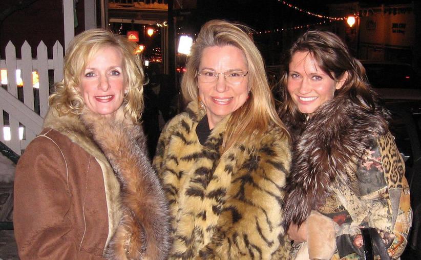 Sundance 2007 with Elizabeth Kanna, Beth Handler &  Irina Ginsberg