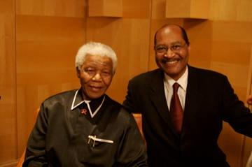 Nelson Mandela & Earl the Pearl