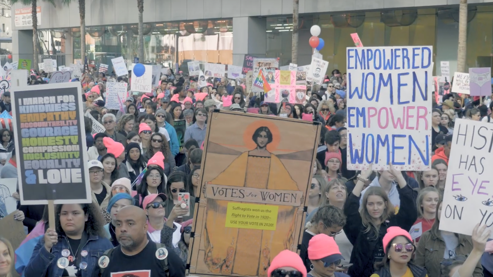 2019 Women's March in Los Angeles