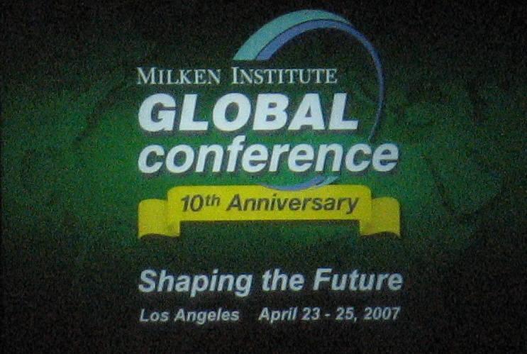Milken Global Conference