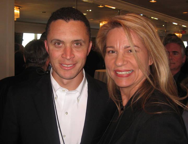 Harold Ford Jr. and Beth Handler