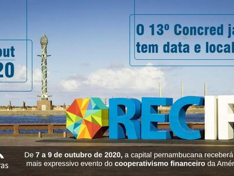 Recife sediará o Concred, maior evento financeiro do cooperativismo da América Latina
