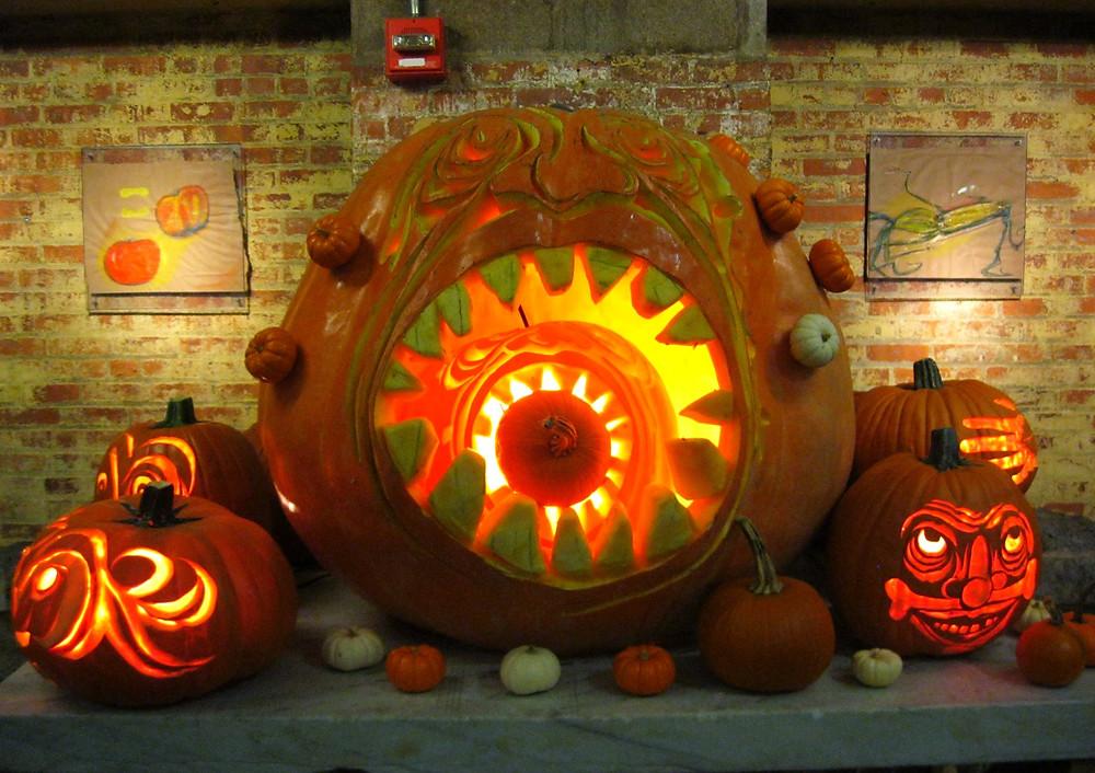Chelsea Market, Halloween, New York