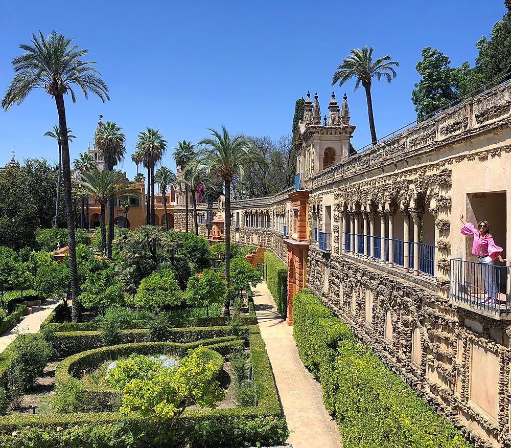 Alcazar de Sevilla, Andalusia