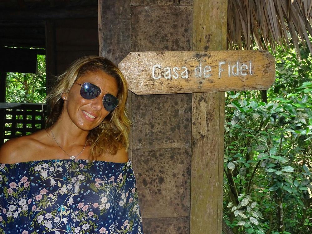 Itinerario Cuba, Trekking in Sierra Maestra, Casa di Fidel Castro