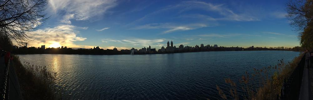 Onassis Reservoir, Central Park, New York