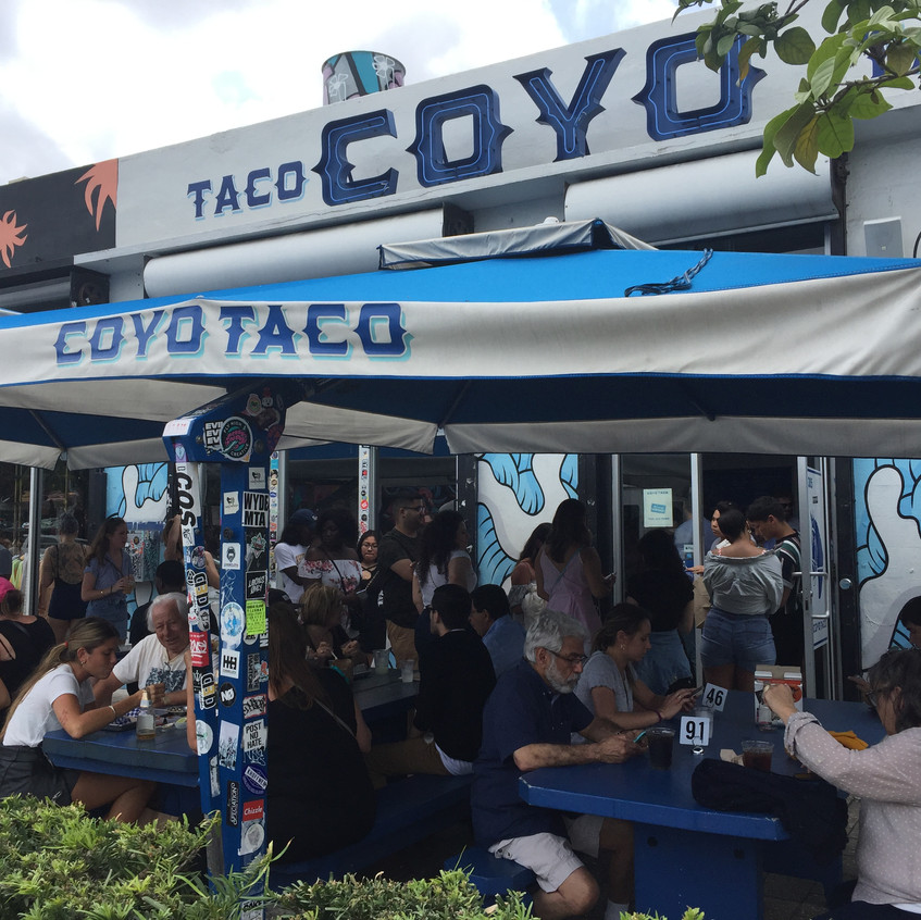 Coyo Taco, Miami