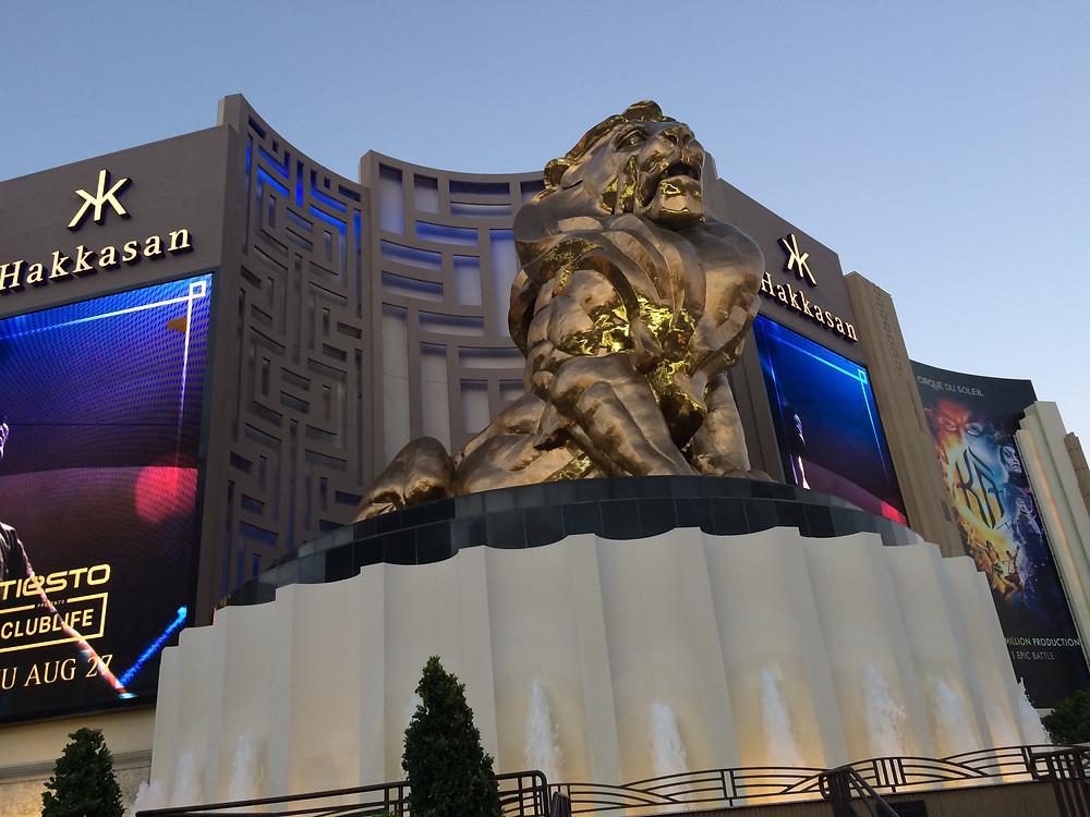 MGM hotel, Las Vegas, Stati Uniti d'America