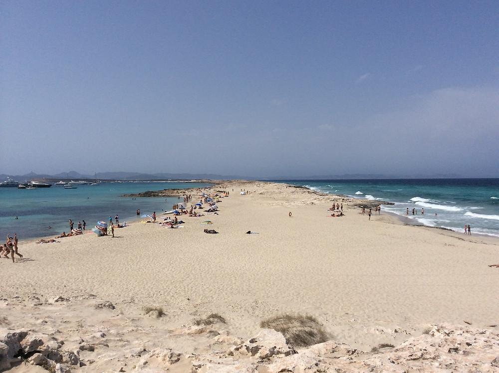 Illetas, Formentera, il mare più bello del mediterraneo. Isole Baleari