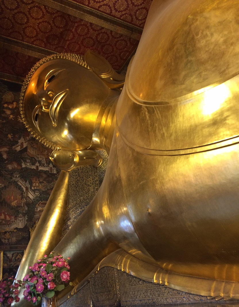 THAILANDIA. Bangkok: Wat Pho, il tempio del Buddha Sdraiato