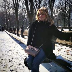 Può una foto raccontare la felicità_ _Central Park, New York City_ un sabato di metà dicembre, di so