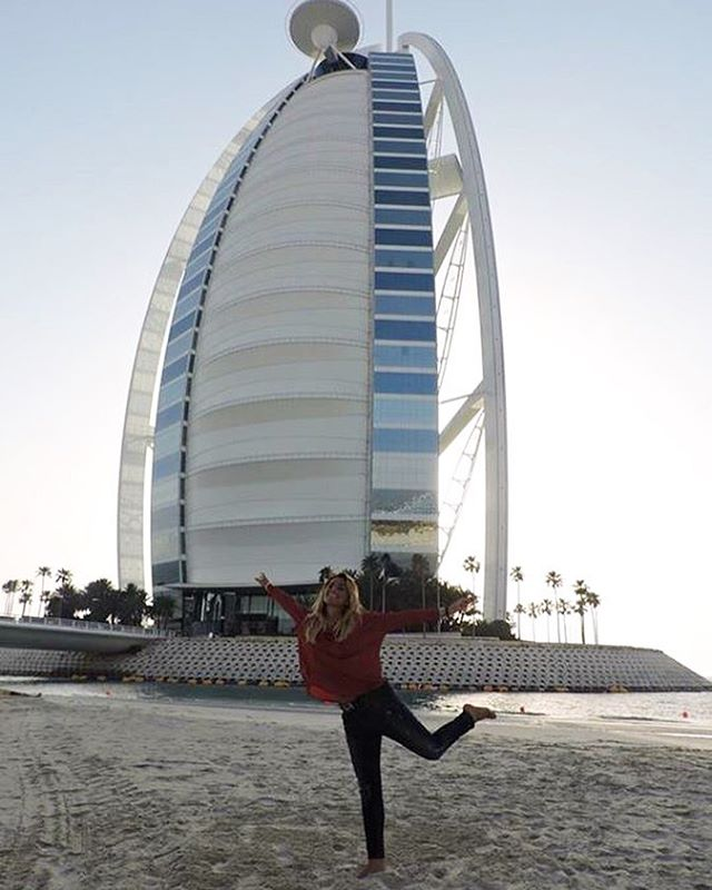 Dubai, the Burj Al Arab and a little bit of happiness at sunset in Jumeirah Beach...