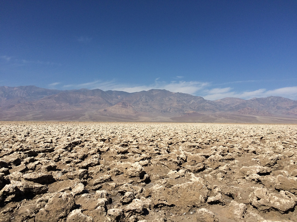 Devil Golf Course, Death Valley, California