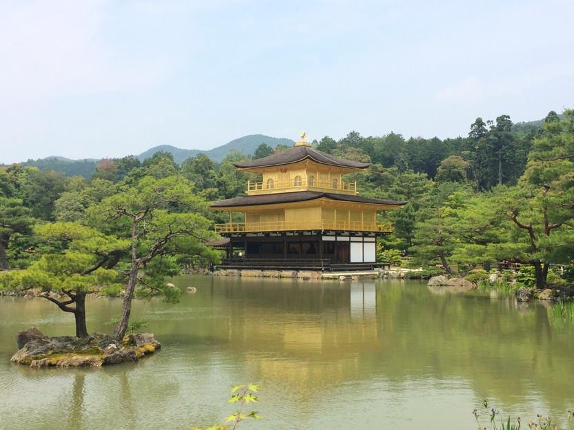 GIAPPONE. Kinkaku-ji, il Padiglione d'Oro di Kyoto