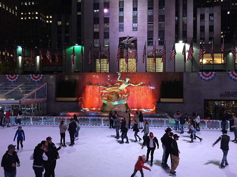 The Rink at Rockfeller Center, NYC