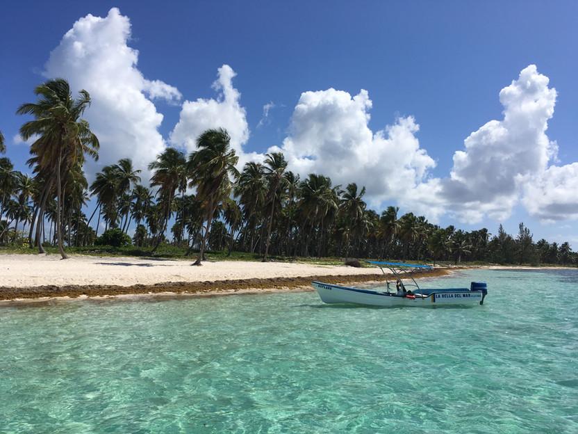 REPUBBLICA DOMINICANA. L'isola di Saona, la piscina naturale dei Caraibi