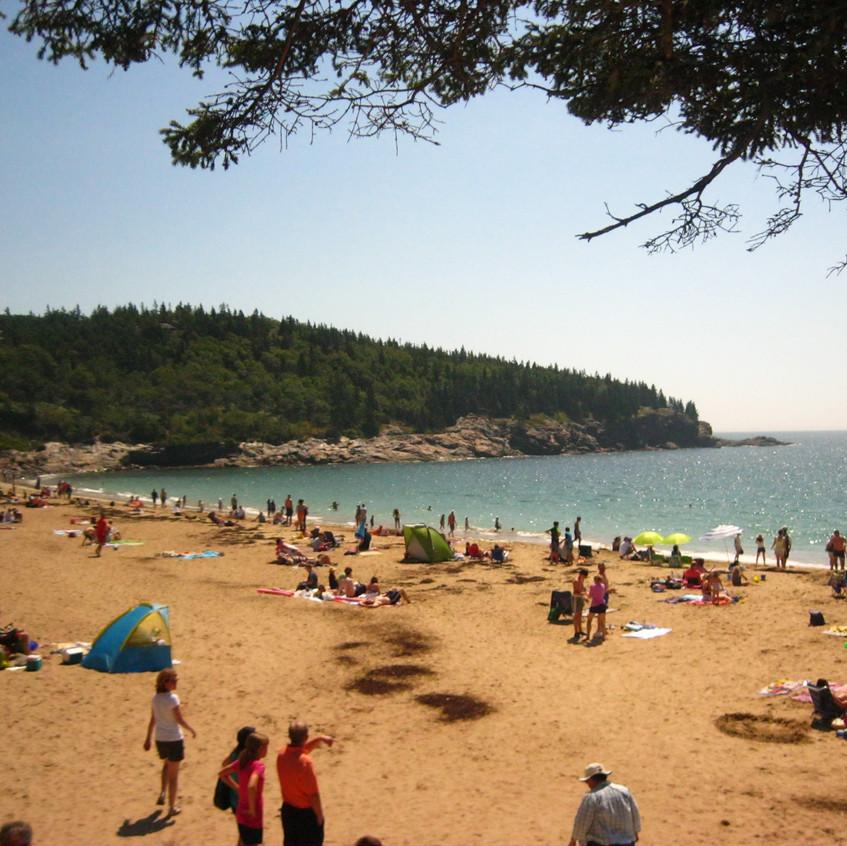 Sand Beach, Maine