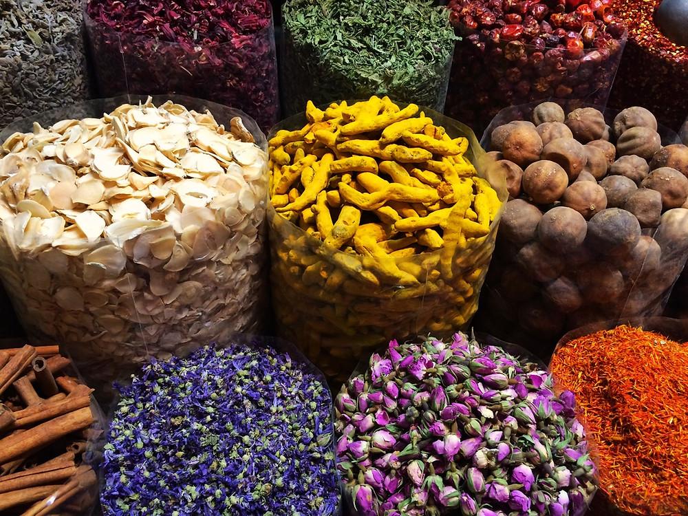 Souk delle spezie, Bur Dubai, Deira, Dubai, Emirati Arabi