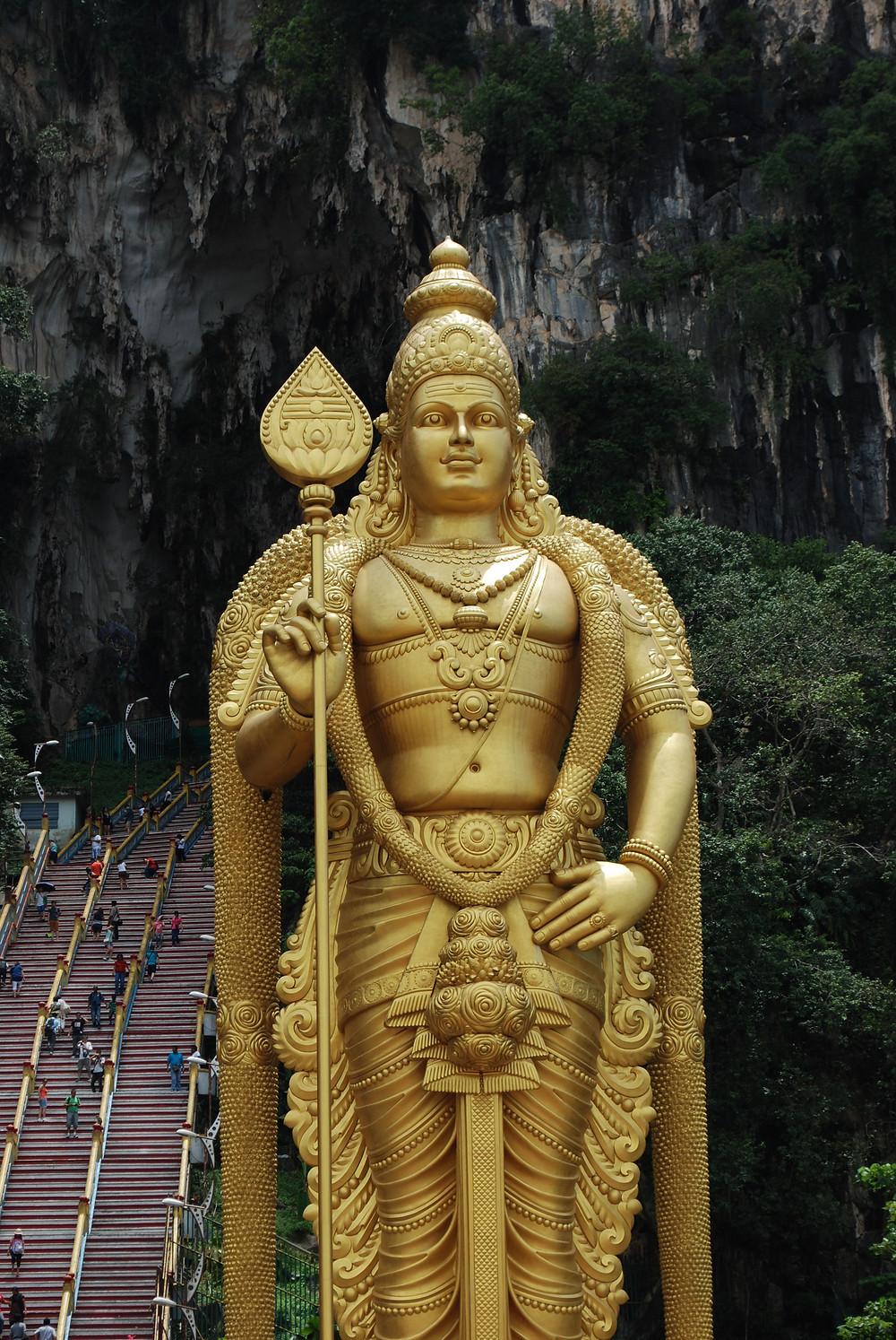 Batu Caves, le grotte sacre di Kuala Lumpur, Malesia, Malaysia