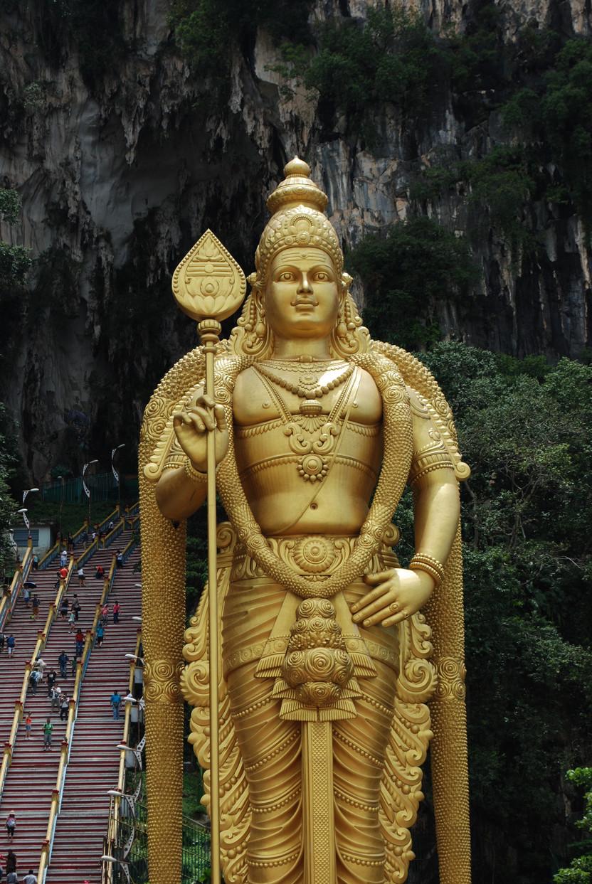 MALAYSIA. Batu Caves: le grotte sacre di Kuala Lumpur