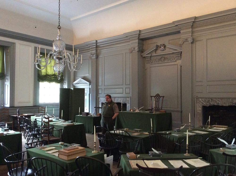 Indipendence Hall, Philadelphia