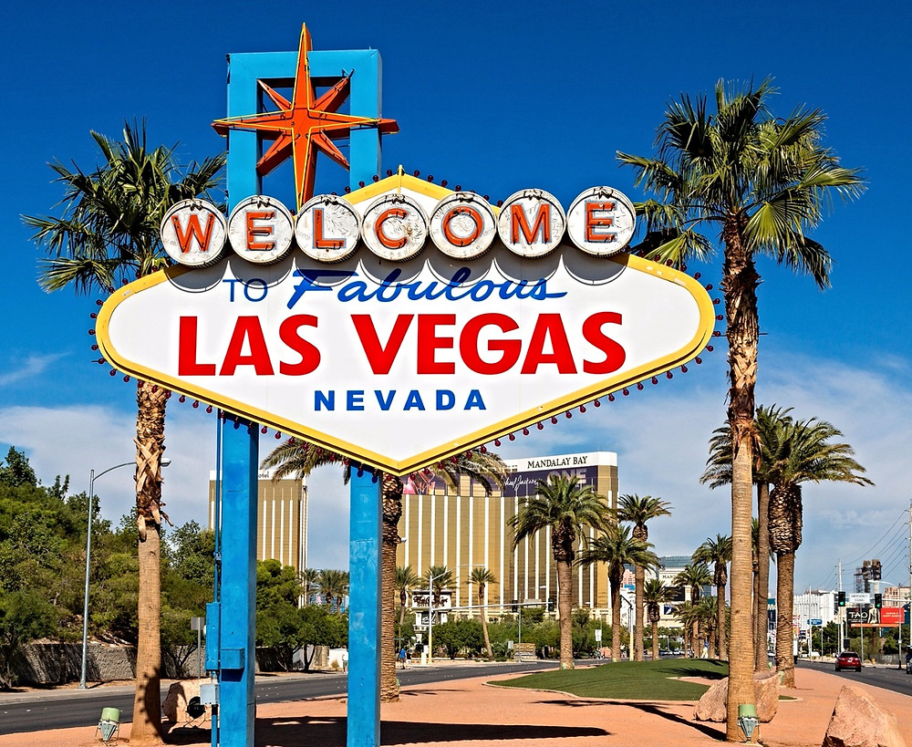 Las Vegas, Nevada, Viaggio negli Stati Uniti d'America