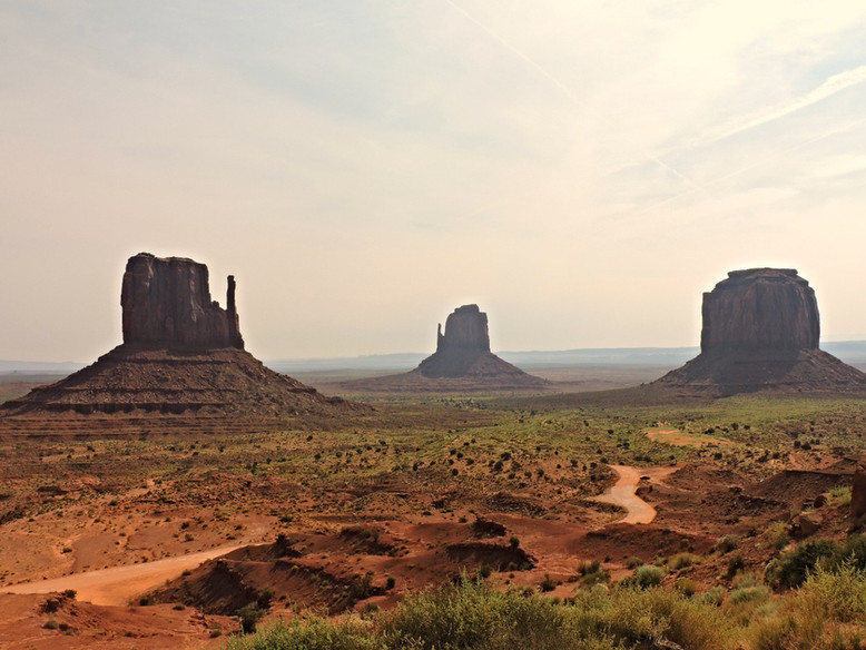 MONUMENT VALLEY. The American Dream