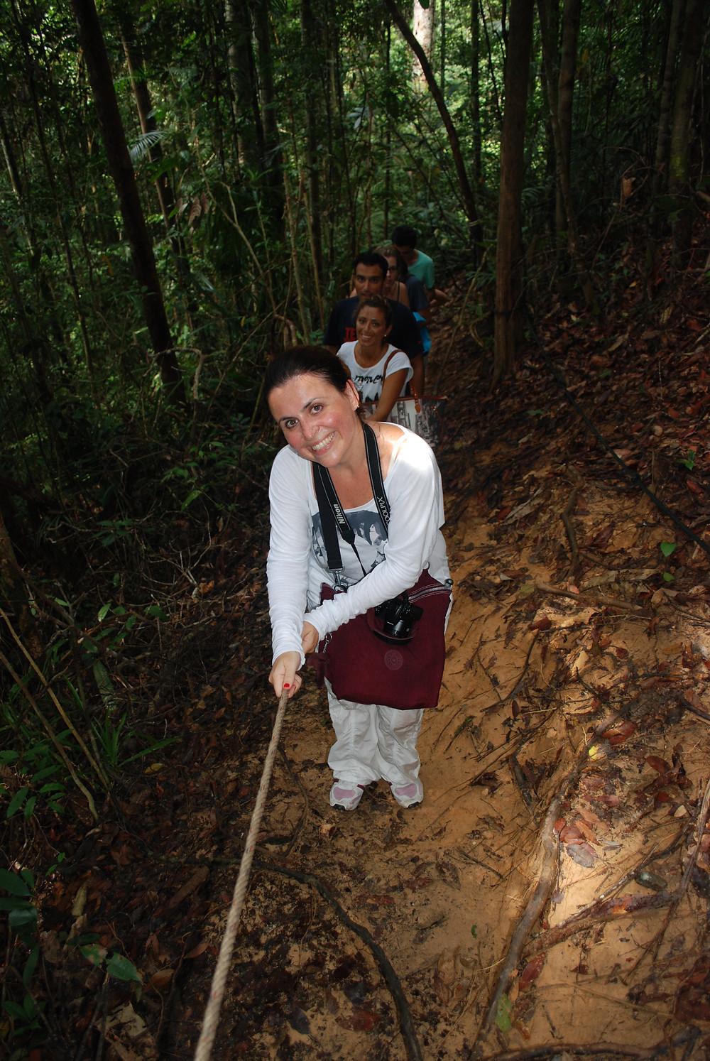 Tamane Negara national Park, Malaysia, trekking con i miei amicii