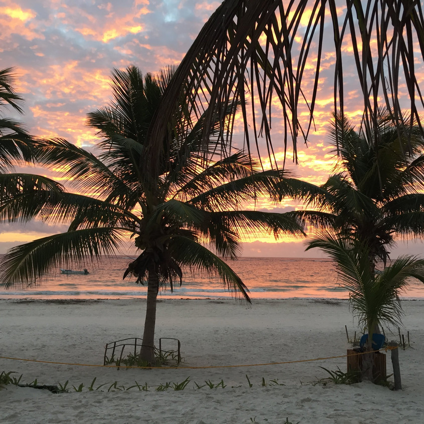 Alba a Tulum, Yucatan