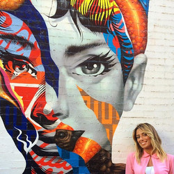 Audrey of Mulberry, by Tristan Eaton. New York City