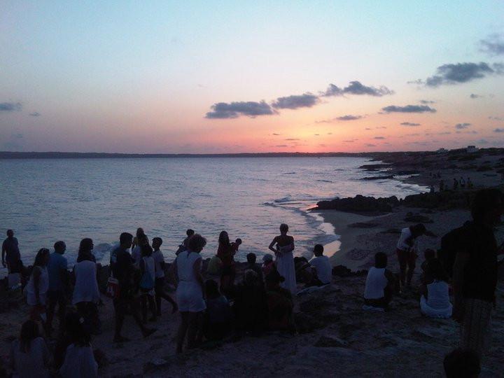 sunset formetera