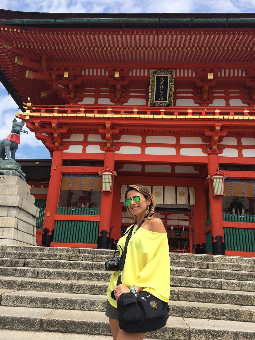 Santuario di Fushimi Inari, Kyoto, Giappone