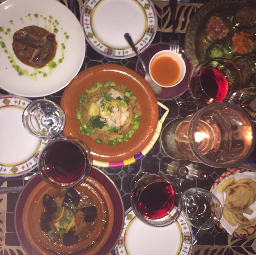 Le Foundok, Marrakech, Ristorante
