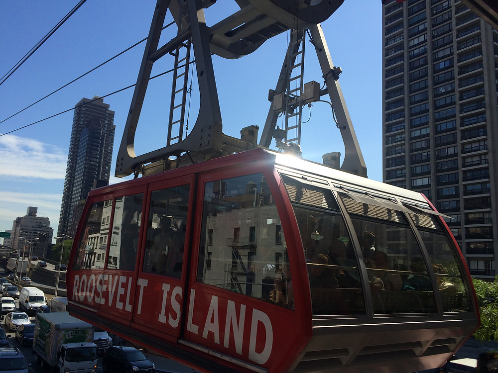 cable car, roosvelt island, new york