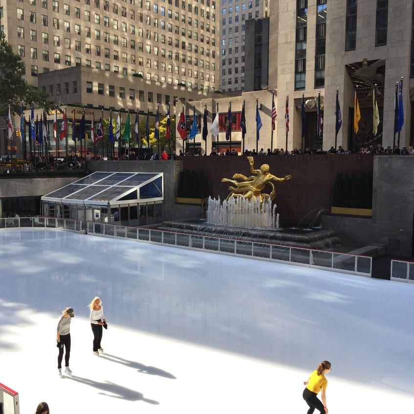 The Rink at Rockfeller Center, NYC