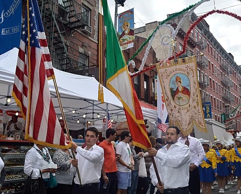 NEW YORK. La Festa di San Gennaro a Little Italy