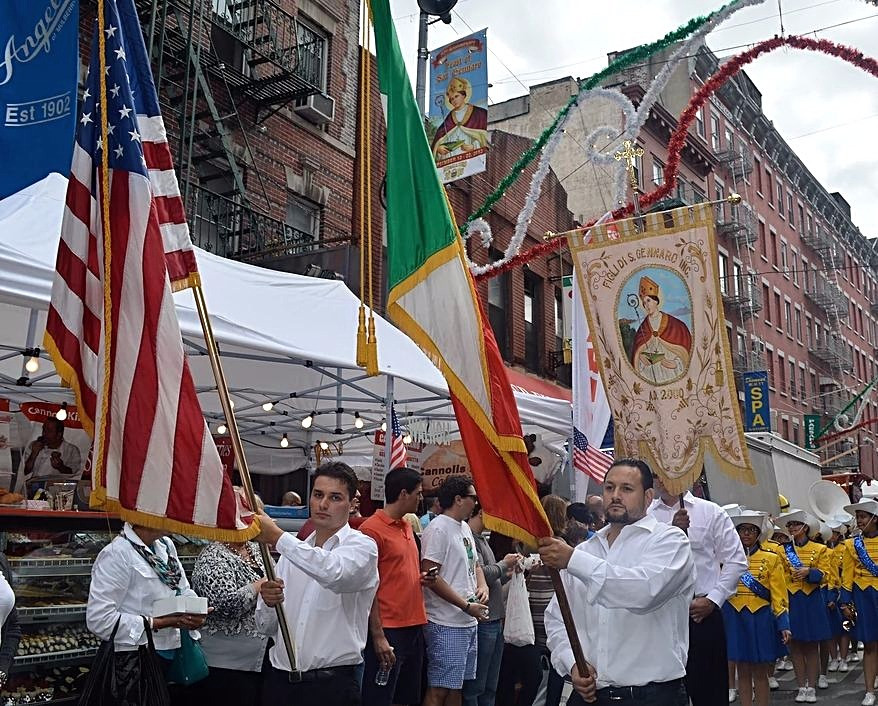 Festa di San Gennaro a Little Italy, New York