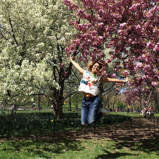Il fattore F che mi riempie la vita! #inviaggioconapple #newyork #ny #centralpark #happy #happiness