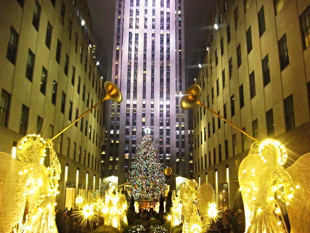 L'Albero di Natale al Rockfeller Center, cerimonia di accensione dell'albero