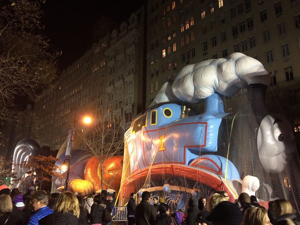 New York, Thanksgiving Day