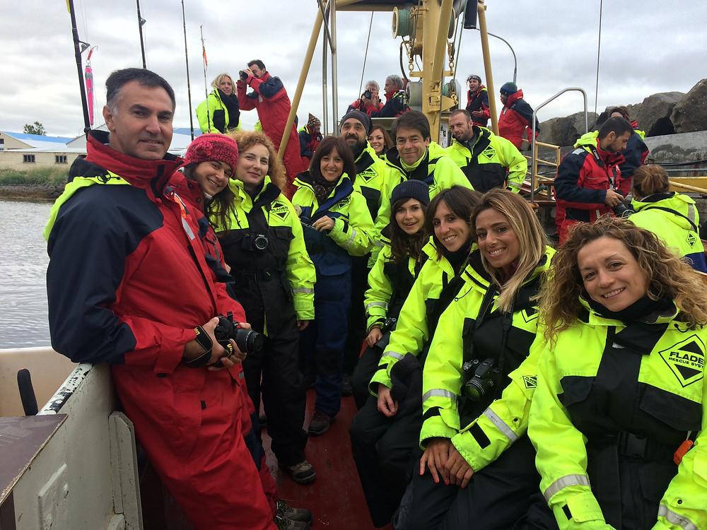 Hauganes, Whales Watching, Islanda