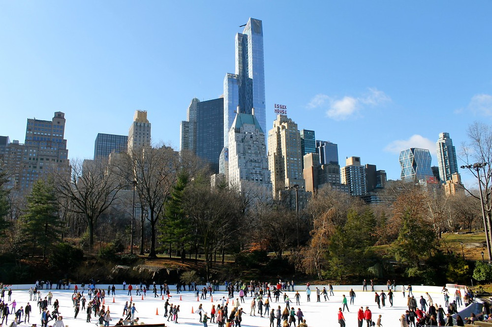 The Wollman Rink at Central Park, NY
