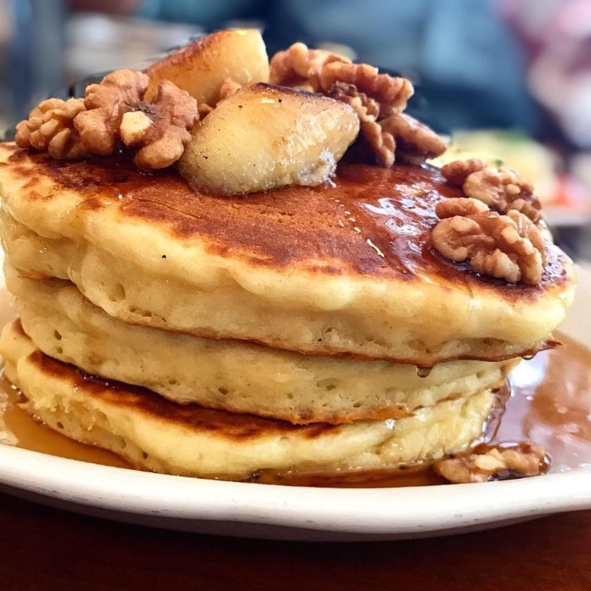 Pancakes di Bubby's , New York