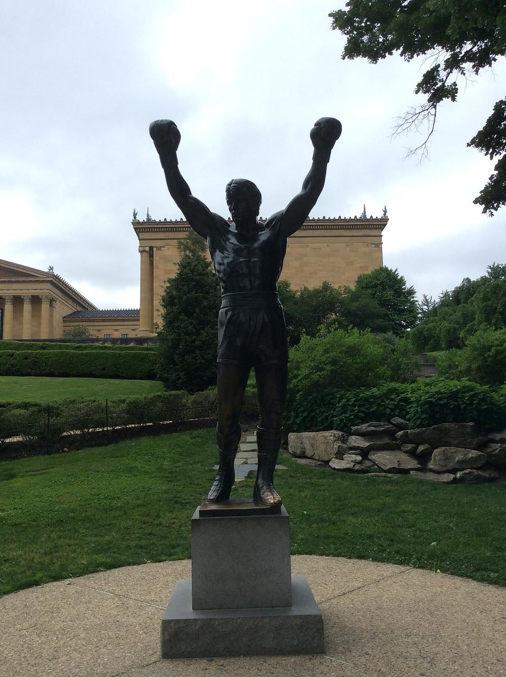 Museum of Art, Philadelphia, Statua di Rocky Balboa