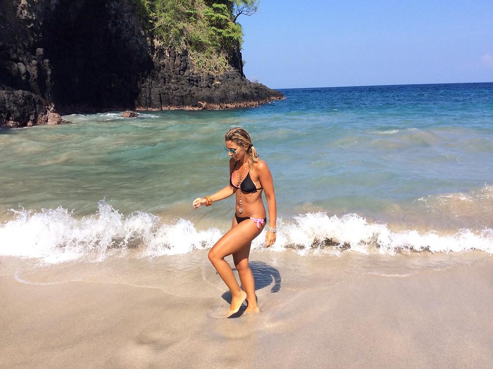 White sand Beach Yoga, Bali