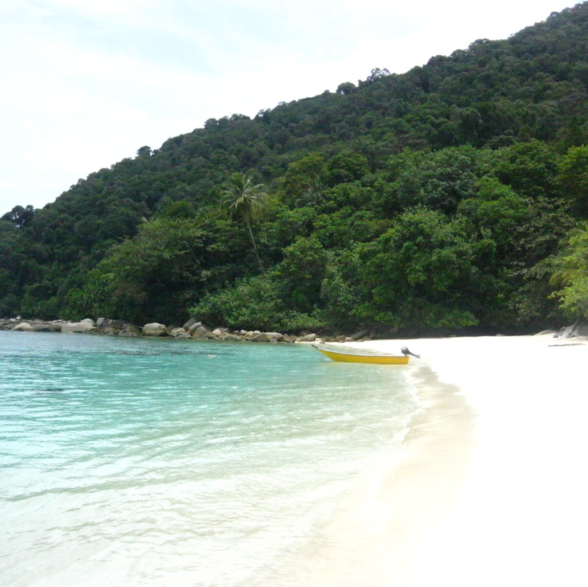 Turtle bay, Isole Perenthian, Malays
