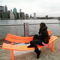 #nyc #newyork #newyorkcity #brooklyn #brooklynbridgepark #manhattan #apple #skyline #lovenyc #mylife