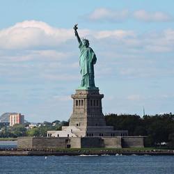 L'unica Miss che conosco! 🗽🇺🇸 #inviaggioconapple #missliberty #nyc #ny #newyork #newyorkcity #man
